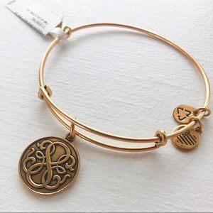 "NWT Alex and Ani ""E"" Bracelet"